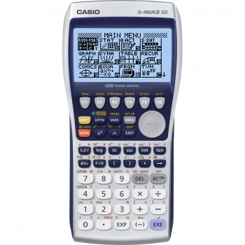 CASIO CALCULADORA 9860GII SD