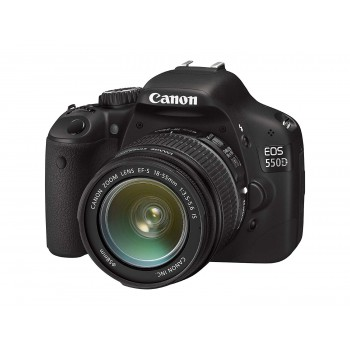 CANON EOS 550D + EF-S 18-55MM IS II + EF-S 55-250MM IS II LENS KIT