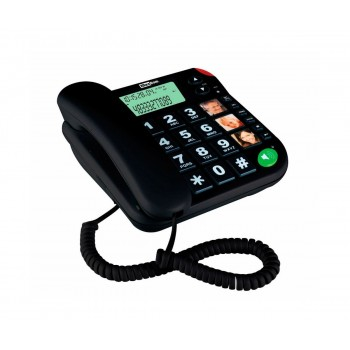 MAXCOM TELEFONO FIJO CON NUMEROS GRANDES KXT480