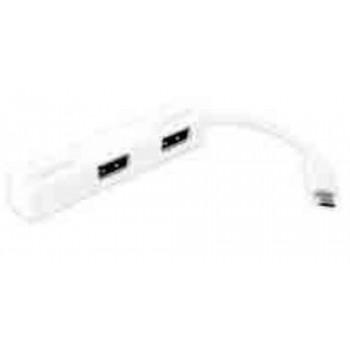 AQPROX HUB PORTATIL USB 2.0 4 PUERTOS TABLETS SMARTPHONES ANDROID MICRO USB