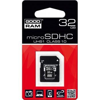 GOOD RAM TARJETA 32GB SD 100MB/S CLASE 10