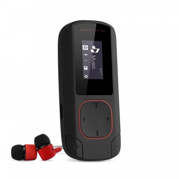 ENERGY SYSTEM MP3 BT CLIP 8GB ROJO