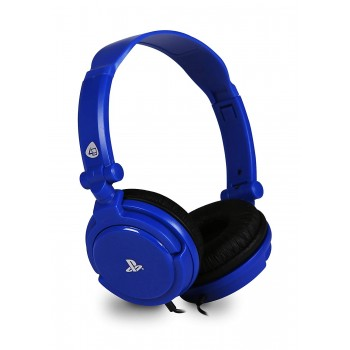 4GAMERS PRO4-10 AURICULARES GAMING PS4 AZUL JACK 3.5MM