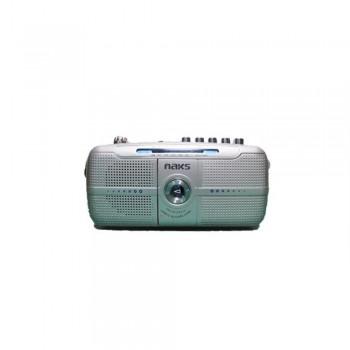 NAKS RADIO CASSETTE GRABADOR PORTATIL RC-7202