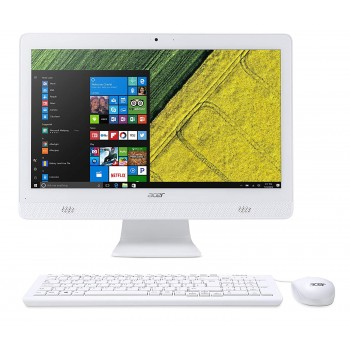"ACER ALL IN ONE ASPIRE C20-720 BLANCO INTEL CELERON J3060 2.48GHZ 4GB 1TB 19.5"" DVD W10"