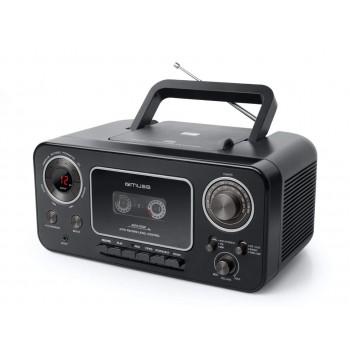 MUSE M-182 RDC RADIO CD Y CASSETTE