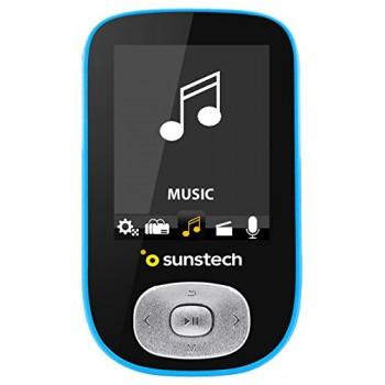 """SUNSTECH SKYBT MP4 1.8"""" BT FM 4GB BLUE"""
