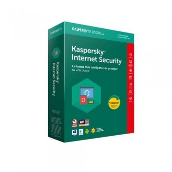 KASPERSKY INTERNET SECURITY 1 AÑO 4 DISPOSITIVOS