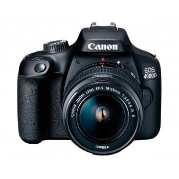 CAMARA CANON EOS 4000D 18-55 + SB130+16GB