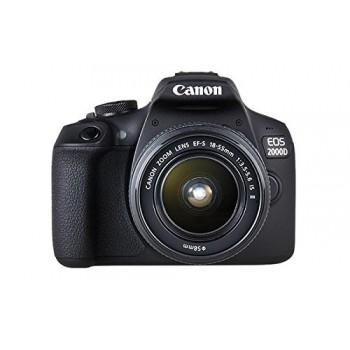 CAMARA CANON EOS 2000D+18-55 IS + LP-E10