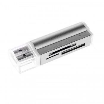 LINQ LI-T662 LECTOR DE TARJETAS USB 2.0 15 EN 1 KIRANS