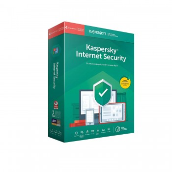 KASPERSKY INTERNET SECURITY 4 DISPOSITIVOS 1 AÑO
