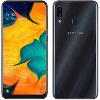 "SAMSUNG GALAXY A30S 8NUC 6.4"" 25MP 4GB 64GB DS PRISM CRUSH BLACK"