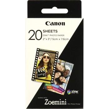 CANON 20 FOTOS PAPEL 5CM X 7.6CM