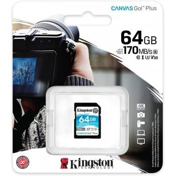 KINGSTON ADAPTADOR SD 64GB 170MB/S CLASE10