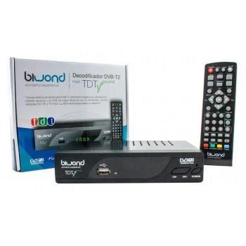 BIWOND DECODIFICADOR DVB-T2 MOD TDT Y + SOUND