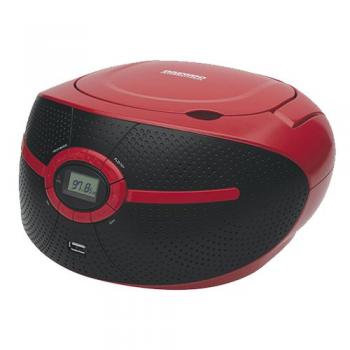 DAEWOO RADIO CD MP3 CON USB DBU-38W ROJO