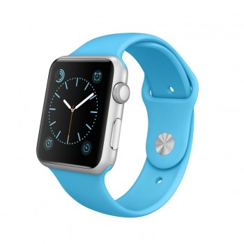 APPLE WATCH 42MM SIL AL BLUE SPORT