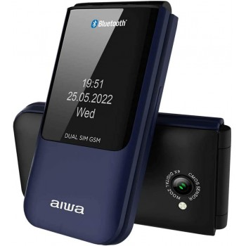 AIWA TELEFONO MOVIL FP-24BL BT MULTIFUNCIONES AZUL