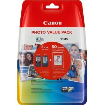 CANON CARTUCHO PG540XL+CL541XL NEGRO+ COLOR