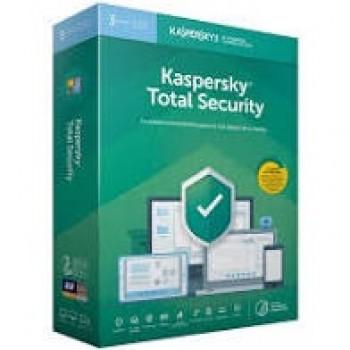 KASPERSKY TOTAL SECURITY 3 DISPOSITIVOS 1 CUENTA