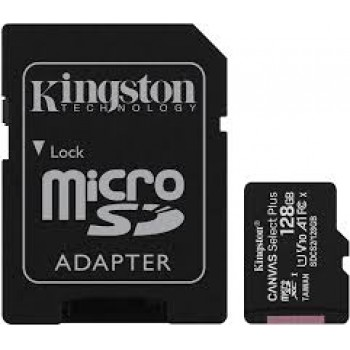 KINGSTON CANVAS SELECT PLUS 128GB A1 100MB/S