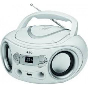AEG SR 4374 CD/USB RADIO CD BLANCO