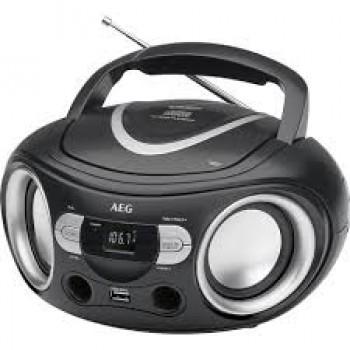 AEG SR 4374 CD/USB RADIO CD NEGRO