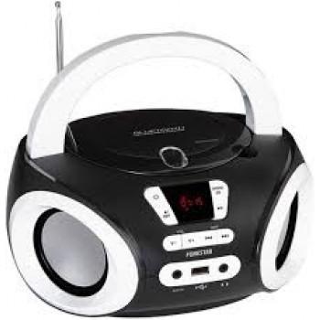 FONESTAR BOOM-ONE RADIO CD BT USB NEGRO
