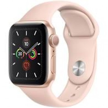 APPLE WATCH SERIES 5 40MM GOLD ALU PINK SAND SP BAND GPS
