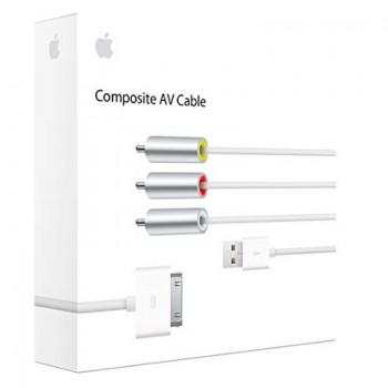 APPLE CABLE IPOD/PHONE/IPAD A/V COMPUESTO/USB