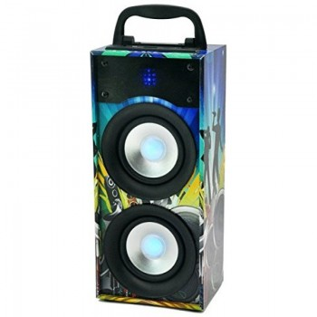 ALTAVOZ BT PARTY DISCO2 USB SD AUX 20W