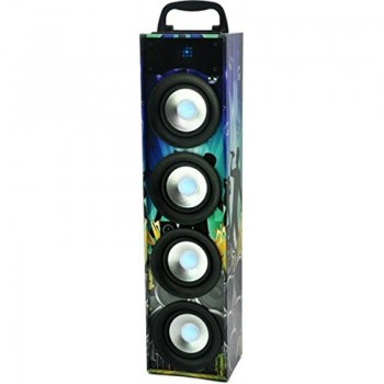 ALTAVOZ BT PARTY DISCO4 USB SD AUX 40W