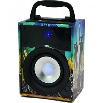 ALTAVOZ BT PARTY DISCO1 USB SD AUX 10W