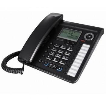 ALCATEL TELEFONO CON CABLE Y PANTALLA TEMPORIS 700 NEGRO