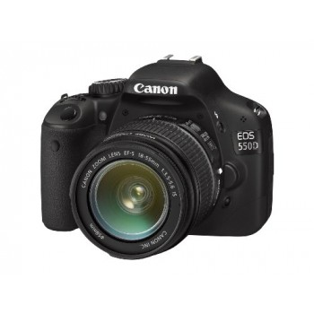 CANON EOS 550D + EF-S 18-55MM IS II + EF-S 55-250MM IS II LENS KIT