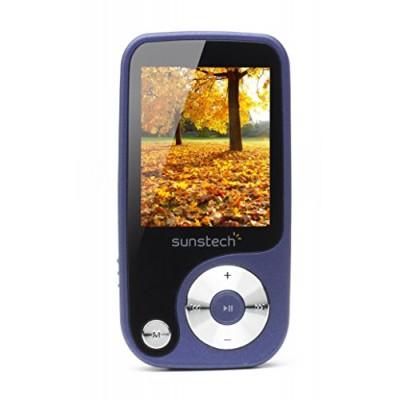 SUNSTECH THORN MP4 + RADIO + SD CARD SLOT 4GB BLUE