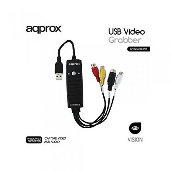 AQPROX CAPTURADOR VIDEO GRABBER