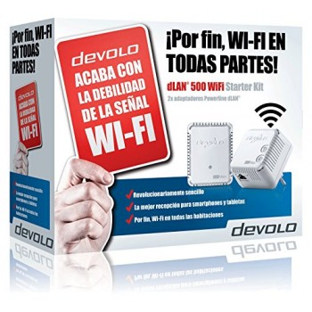 DEVOLO 09276 DLAN 500 WIFI REPETIDOR