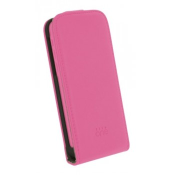4-OK FUNDA TAPA ROSA IPHONE 5/5S