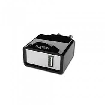 AQPROX CARGADOR USB PARED 1A RBC