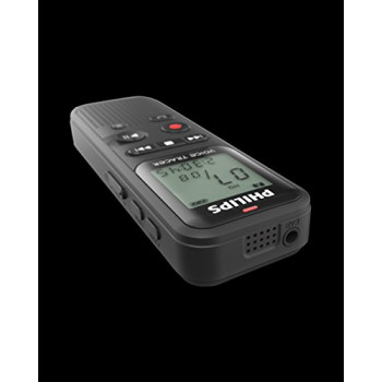 PHILIPS GRABADORA DE VOZ DVT1150 4GB