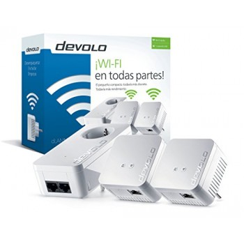 DEVOLO DLAN 550 WIFI NETWORK KIT 09644 REPETIDOR WIFI
