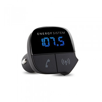 ENERGY SISTEM CAR TRANSMITTER MUSIC BT NEGRO