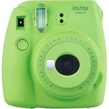 FUJI FILM INSTAX MINI 9 VERDE + CARRETE 10 + FUNDA